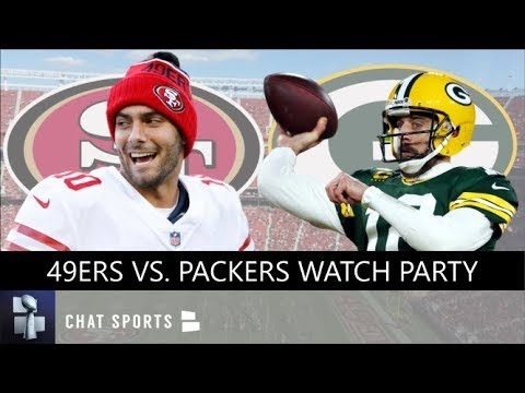 49ers Vs Packers NFC Championship Game Live Stream Reaction, Highlights, Stats, Score | NFL Playoffs
