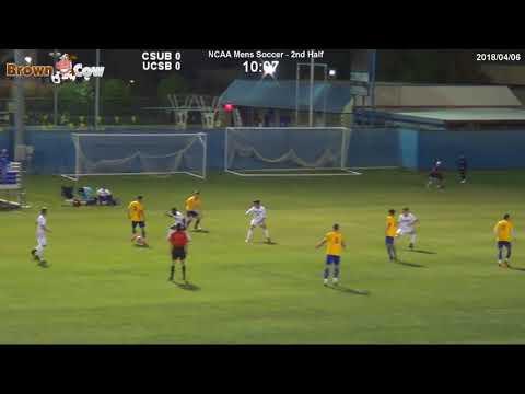 20180406 NCAA Mens Soccer CSU Bakersfield v UC Santa Barbara Highlights