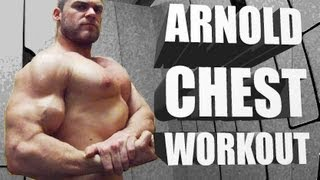 Arnolds blueprint cut day 1 chest and back clip arnold chest routine classic bodybuilding workout malvernweather Gallery