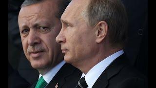 تركيا تعتذر لروسيا عن اسقاط مقاتلتها قرب الحدود السورية
