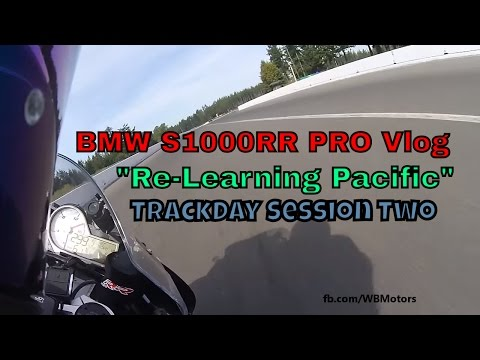 """BMW S1000RR PRO Vlog: """"Re-Learning Pacific"""" 