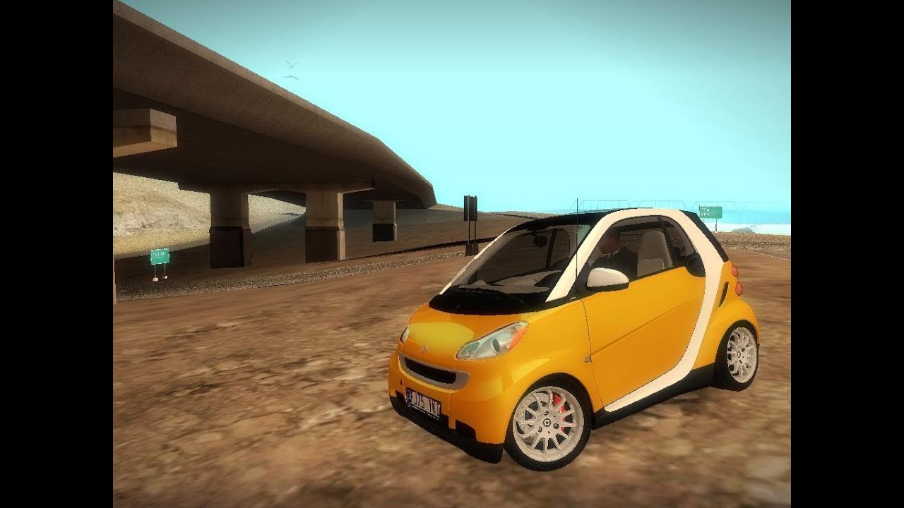 gta san andreas 2012 smart fortwo 1080p youtube. Black Bedroom Furniture Sets. Home Design Ideas