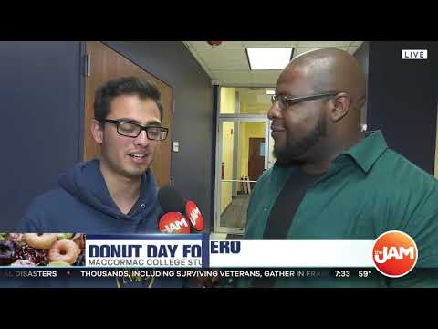MacCormac College Gives Back - Donut Day 2019 - Clip 2