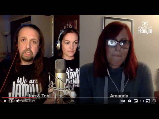 Radio FreakJam Episode 59 - Co-host Amanda Andjelković