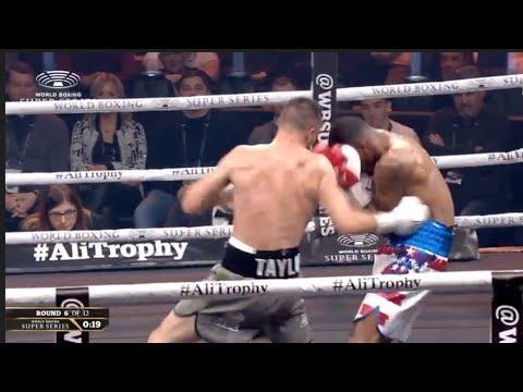 JOSH TAYLOR v RYAN MARTIN  *FULL FIGHT HD* (WBSS - GLASGOW) - EMPHATIC JOSH TAYLOR STOPS RYAN MARTIN