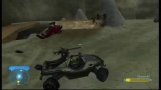 Halo 2 Mods - AI Revision Map Pack Gameplay