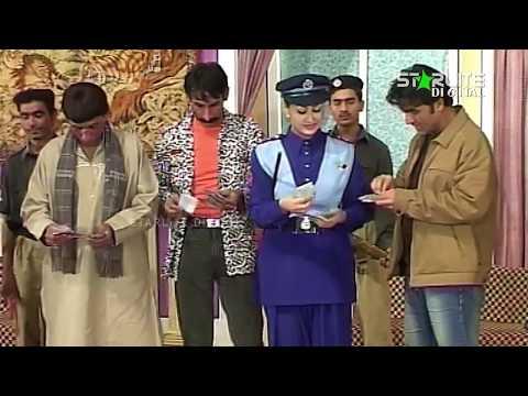 Nargis, Iftikhar Thakur and Mastana New Pakistani Stage Drama Full Comedy Clip