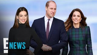 Anne Hathaway Takes a Parenting Tip From William & Kate | E! News