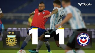 Argentina 1-1 Chile I Copa América 2021