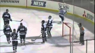 Dramatic Brian Flynn OT Winning Goal : Maine v New Hampshire : Frozen Fenway 2012