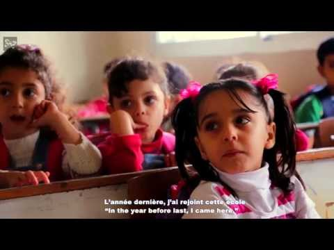 Schooling of Syrian refugees children in Lebanon