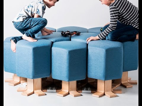 Lift-Bit. Your Shape-Shifting Sofa with a Digital Twist