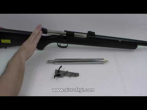 Airsoft GI 101 - How It Works - Spring Powered Bolt Action Sniper Rifle