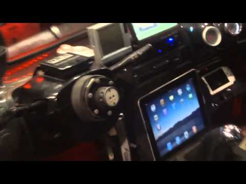 Honda Prelude With Ombre Paint Job And Ipad Mount