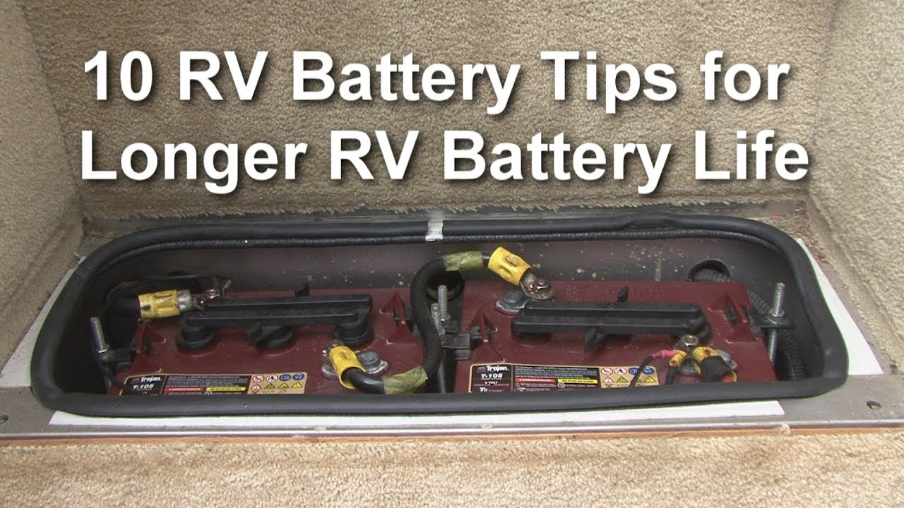 RV Battery Life Expectancy - BATTERY MAN GUIDE