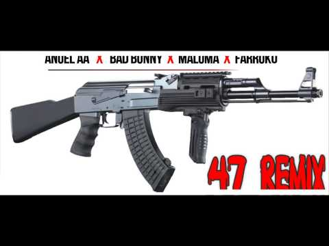 47 Remix - Anuel x Maluma, Farruko & Bad Bunny (Official Audio)