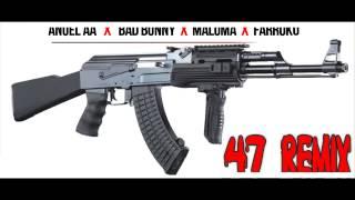 47 Remix - Anuel x Maluma, Farruko & Bad Bunny ( Audio)