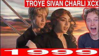 Charli XCX & Troye Sivan - 1999 [Official Video] reaction Tyler Wibstad