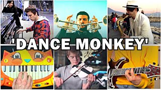 Who Played It Better: Dance Monkey Piano, Sax, Cat Piano, Violin, Trumpet, Guitar