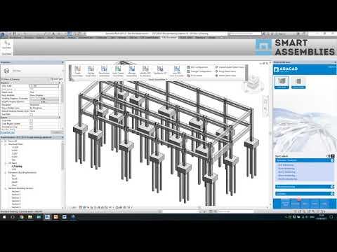 Modeling Precast Concrete Columns & Beams in Revit