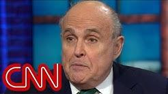Rudy Giuliani calls Michael Cohen a liar