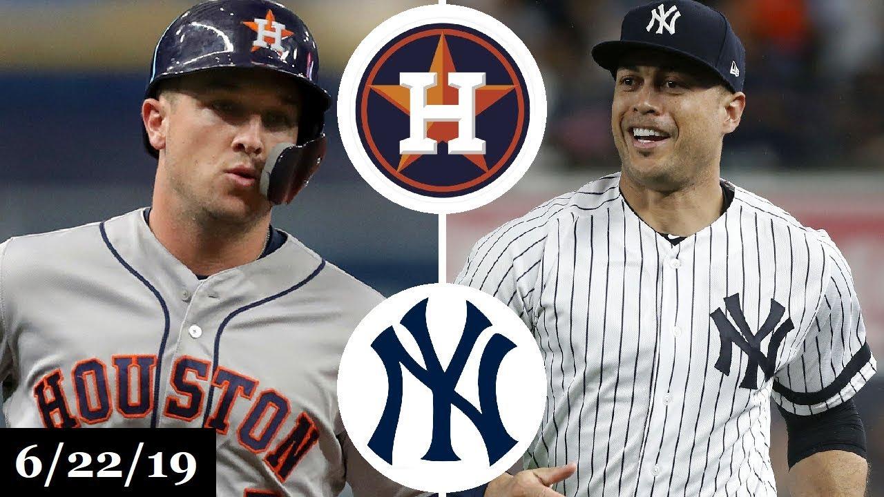 Houston Astros vs New York Yankees - Full Game Highlights
