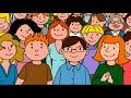 Gryllus Vilmos: Maszkabál - Cica ek, rajzfilmek, gyerekdal, rajzfilm gyerekeknek