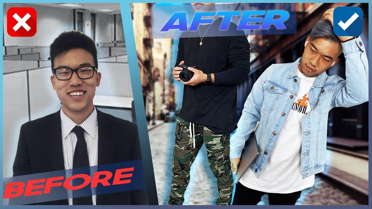 23 Yr Old CORPORATE to CREATIVE Makeover! (No More Friend Zone?) - FashionNovaMens