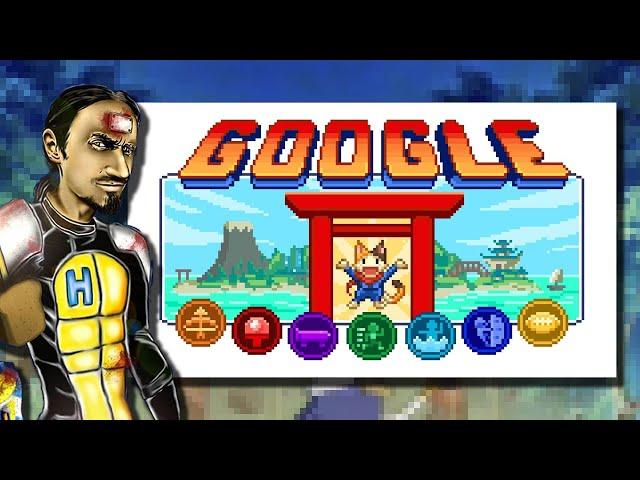 OLIMPIADA #TOKYO2020 SIĘ PRZY TEJ GRZE CHOWA    Google Doodle Olympics