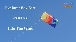 Explorer Box Kite - available from Into The Wind