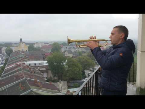 Коли весна і музика збігаються в єдине: сурмач вітає Коломию (13. 05.2017)