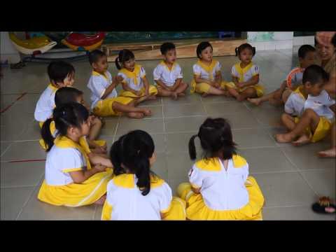Trò chơi dân gian BỎ KHĂN trường mầm non Hạnh Phúc