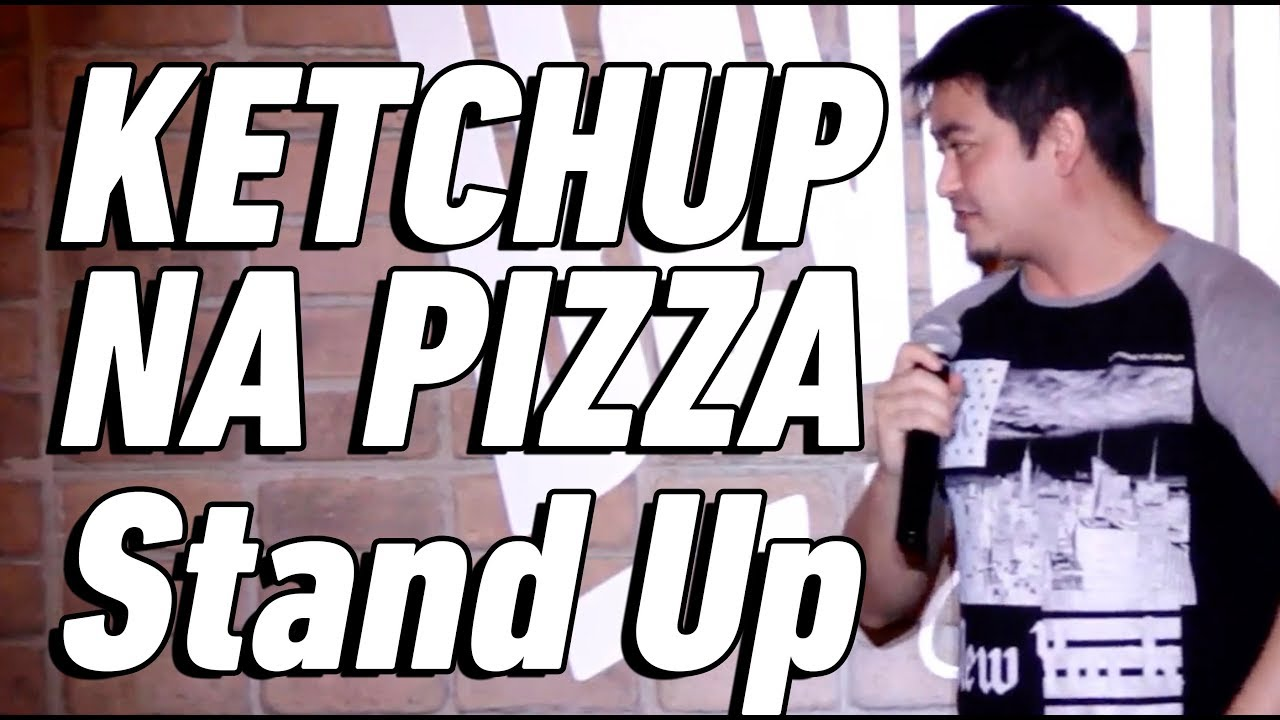 KETCHUP NA PIZZA - Stand Up Comedy - André Santi