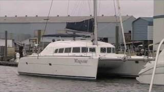 Waypoint Electric 410 lagoon Catamaran Introduction