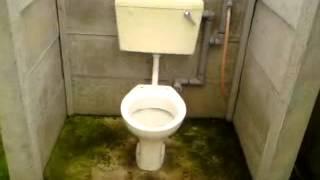 Greenacres caravan site toilet at skegness between butlins n fantasy island'disposal point waste 1