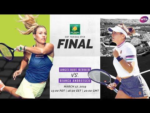 2019 Indian Wells preview: Angelique Kerber vs. Bianca Andreescu