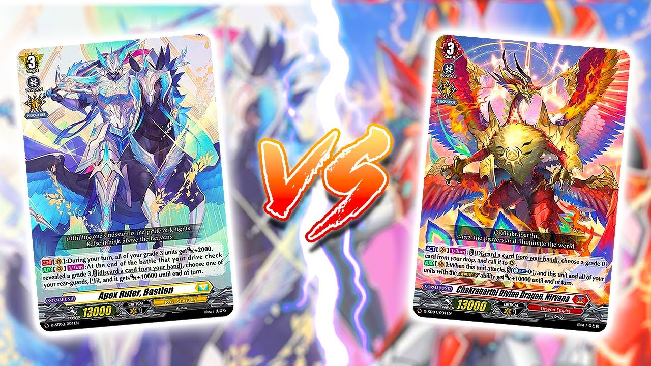 Bastion Vs. Nirvana   Cardfight!! Vanguard Overdress