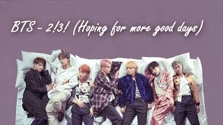 Cover images [RUS SUB] BTS - 2! 3! (Hoping For More Good Days)