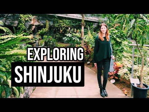 JAPAN DAY 3 -Shinjuku Gyoen Garden in AUTUMN // Holcee Vlogs