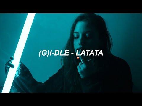 (G)I-DLE ((여자)아이들) - 'LATATA' Easy Lyrics