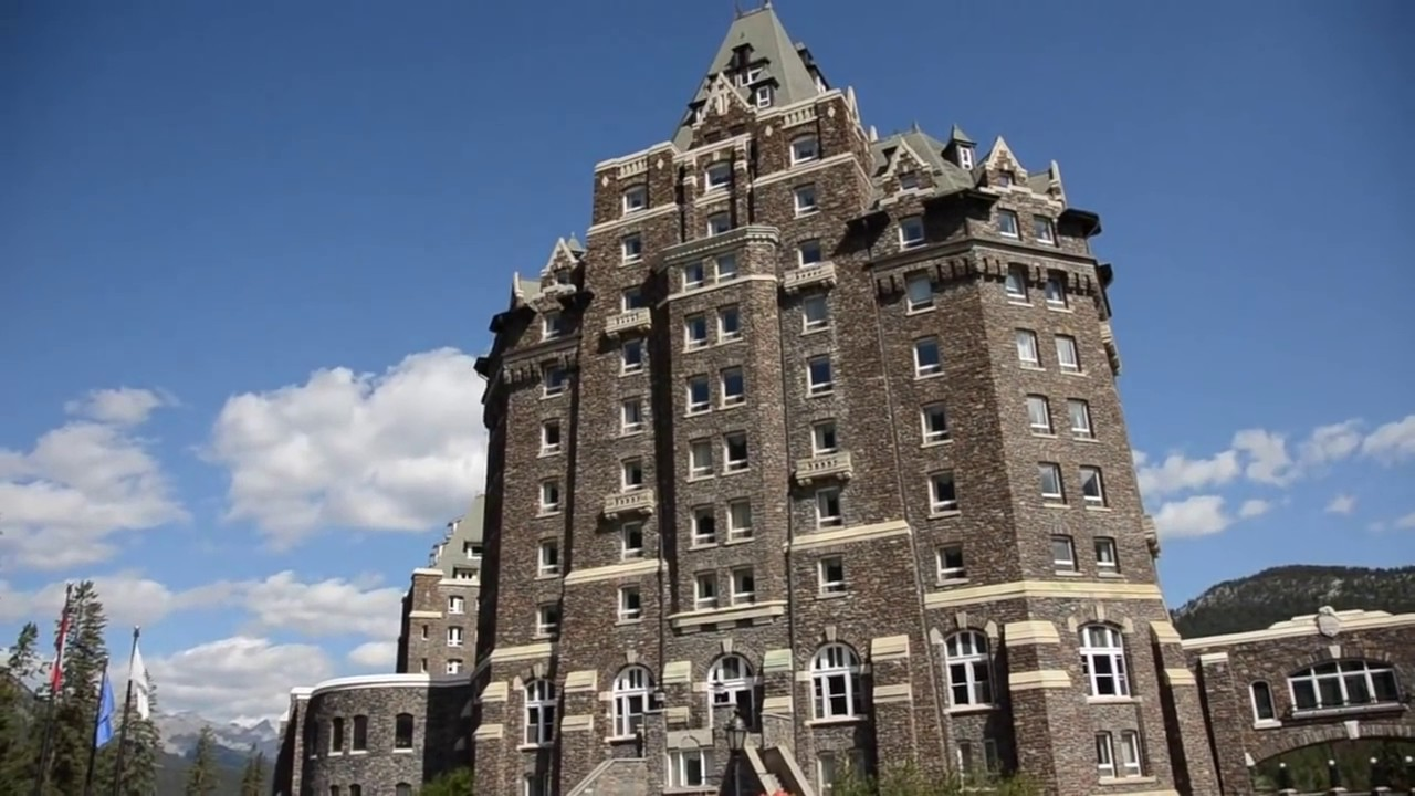 Banff Springs Hotel Ouside And Inside Youtube