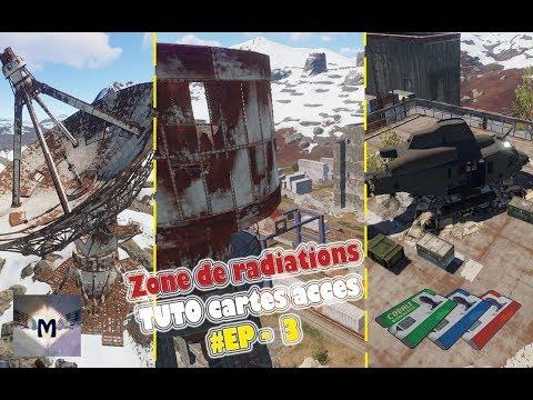 Carte Bleue Rust.Rust Fr Tuto Zone De Rad Exploration Ep 3 Satellites Gare De Triage Site De Lancement