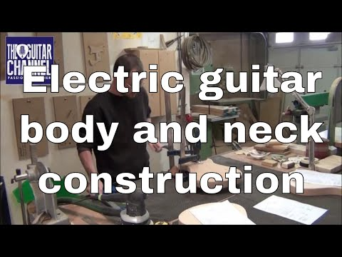 Neck and body guitar construction - Chronicle #12 Spartan Project - Mikael Springer luthier