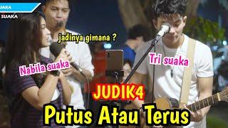 Peninton Pun Ikutan Baper Putus Atau Terus Judika Live Pendopo Lawas Jogja Nabila Suaka MP3