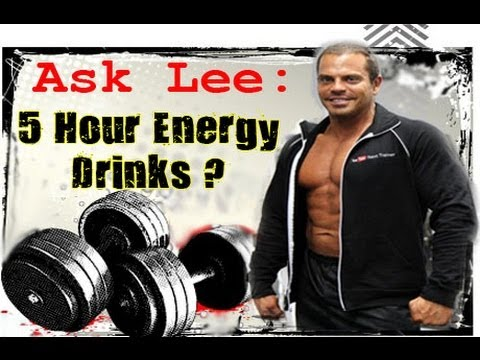 Ask Lee: 5 Hour Energy Drink? (Yay or Nay)