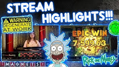 Big Slots & Crazy Roulette Session!! Stream Highlights!