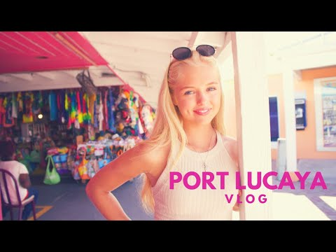 PORT LUCAYA, FREEPORT BAHAMAS VLOG / MOMENTS.BYANNA X JULIAMELLORT