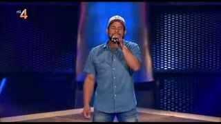 Hombre sorprende a los jueces al cantar igual que Bob Marley