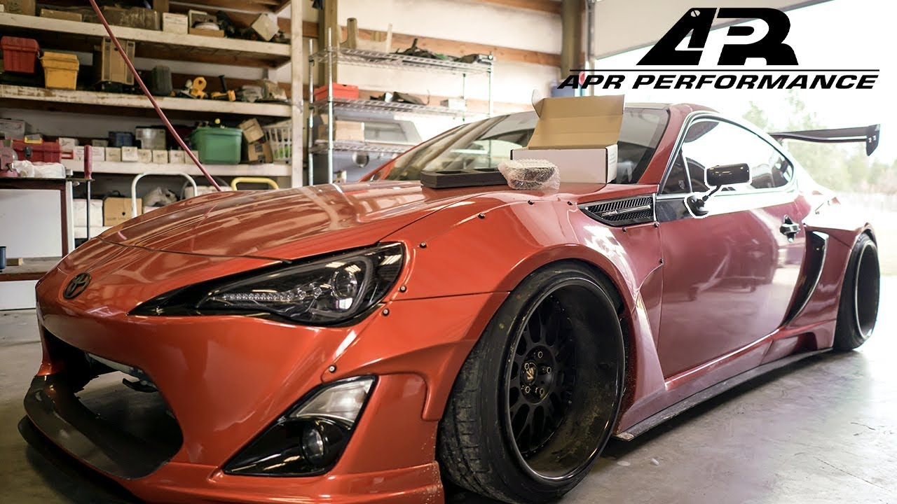 The Widebody Frs Gets Apr Mirrors
