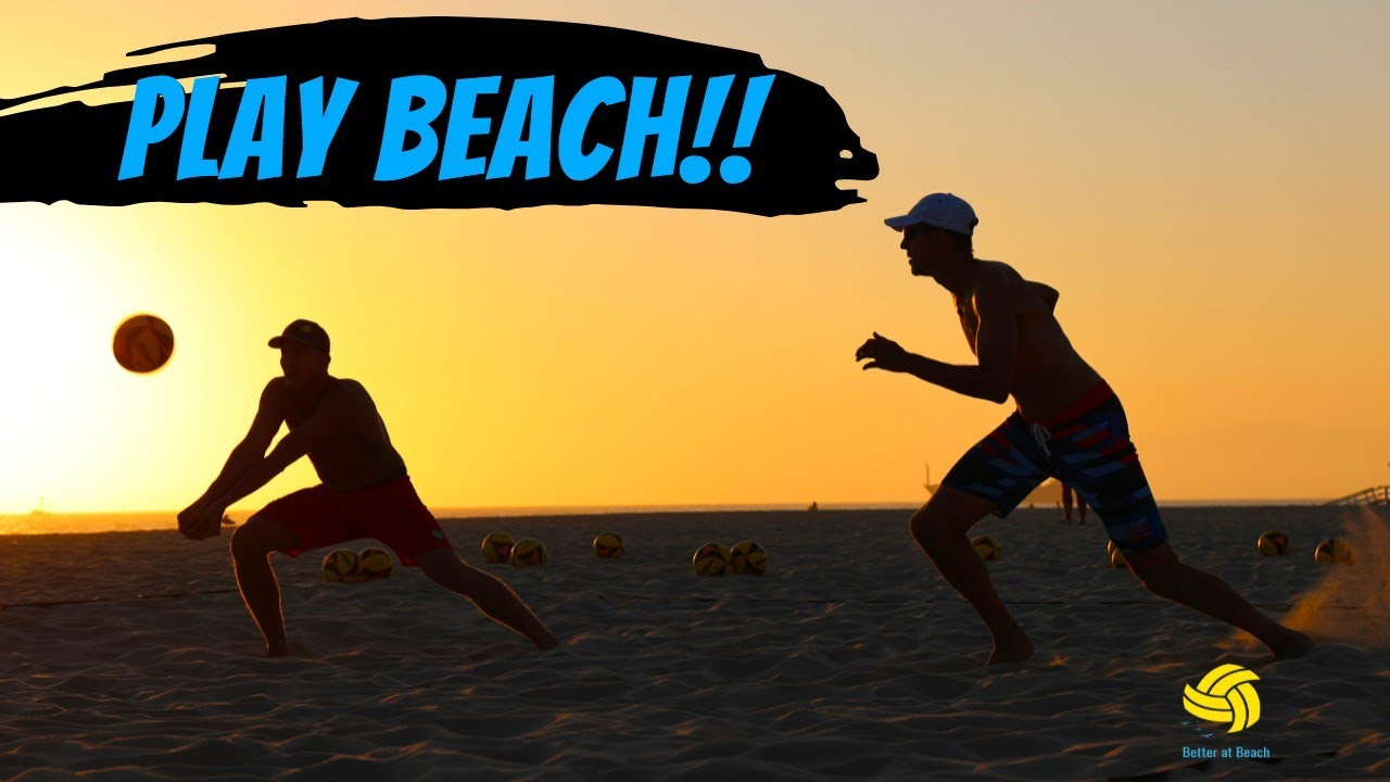 How to Get Better at Beach Volleyball